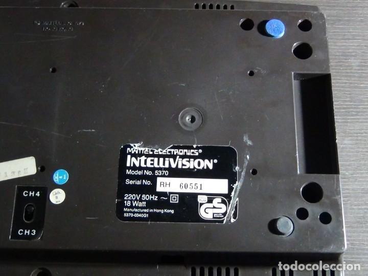 Videojuegos y Consolas: Consola de Mattel Intellivision 1979 con juego Funcionando...VER VIDEO!!!! - Foto 8 - 158979934