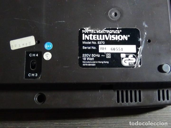 Videojuegos y Consolas: Consola de Mattel Intellivision 1979 con juego Funcionando...VER VIDEO!!!! - Foto 9 - 158979934