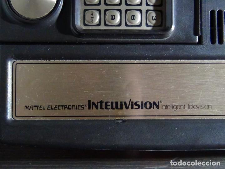 Videojuegos y Consolas: Consola de Mattel Intellivision 1979 con juego Funcionando...VER VIDEO!!!! - Foto 13 - 158979934