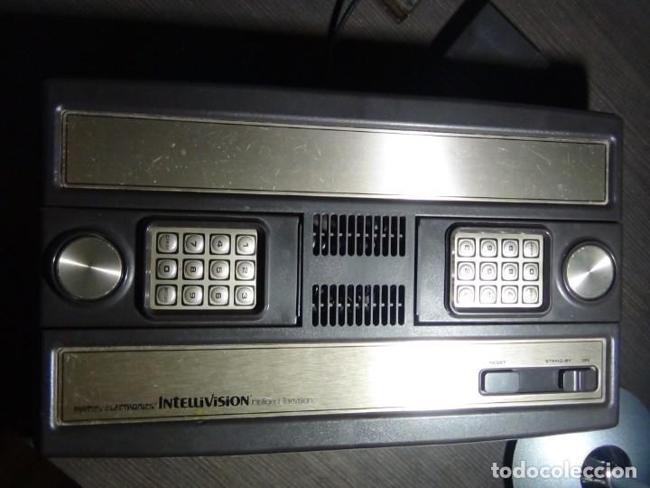 Videojuegos y Consolas: Consola de Mattel Intellivision 1979 con juego Funcionando...VER VIDEO!!!! - Foto 15 - 158979934
