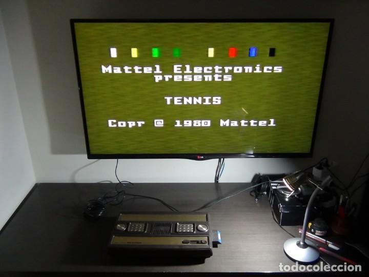 Videojuegos y Consolas: Consola de Mattel Intellivision 1979 con juego Funcionando...VER VIDEO!!!! - Foto 17 - 158979934