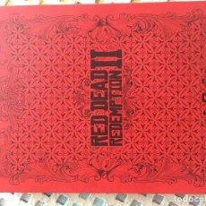 Videojogos e Consolas: SOLO CAJA METALICA STEELBOOK RED DEAD REDEMPTION II RDR 2 XBOX ONE PS4 KREATEN. Lote 218299098