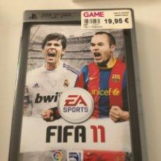 Videojuegos y Consolas: FIFA 11 (PSP). Lote 159219750