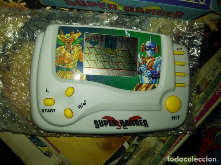 Videojuegos y Consolas: super ranger maquina videojuego a estrenar resto tienda - Foto 2 - 160863526