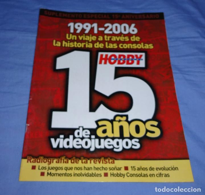 REVISTA HOBBY CONSOLAS 15 AÑOS DE VIDEOJUEGOS (Juguetes - Videojuegos y Consolas - Otros descatalogados)