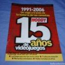 Videojuegos y Consolas: REVISTA HOBBY CONSOLAS 15 AÑOS DE VIDEOJUEGOS. Lote 160889690