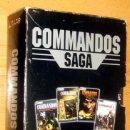 Videojuegos y Consolas: COMMANDOS SAGA TODO EN CASTELLANO CAJA CON 4 JUEGOS PARA PC - PYRO STUDIOS. Lote 160899018