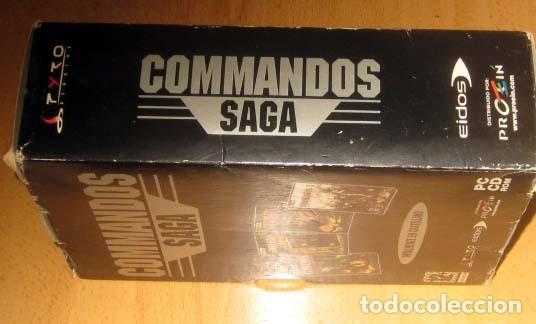 Videojuegos y Consolas: COMMANDOS SAGA TODO EN CASTELLANO CAJA CON 4 JUEGOS PARA PC - PYRO STUDIOS - Foto 2 - 160899018