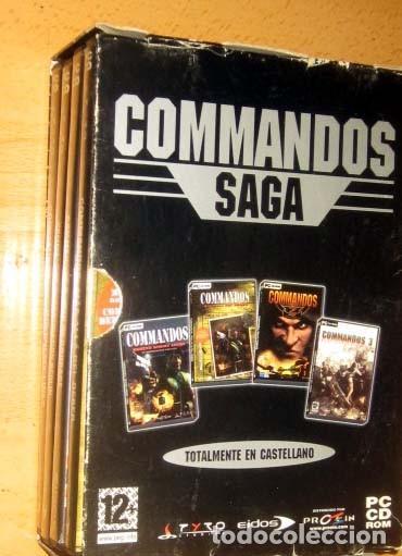 Videojuegos y Consolas: COMMANDOS SAGA TODO EN CASTELLANO CAJA CON 4 JUEGOS PARA PC - PYRO STUDIOS - Foto 3 - 160899018