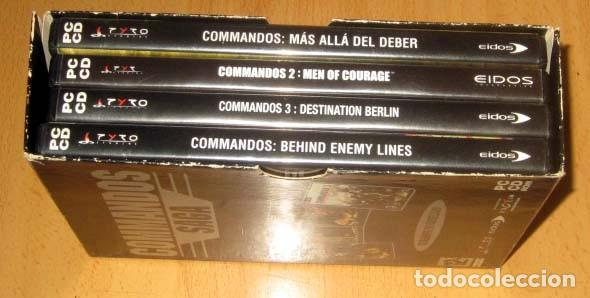 Videojuegos y Consolas: COMMANDOS SAGA TODO EN CASTELLANO CAJA CON 4 JUEGOS PARA PC - PYRO STUDIOS - Foto 4 - 160899018
