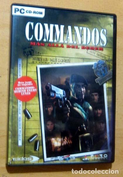 Videojuegos y Consolas: COMMANDOS SAGA TODO EN CASTELLANO CAJA CON 4 JUEGOS PARA PC - PYRO STUDIOS - Foto 5 - 160899018