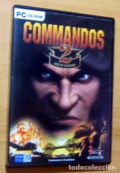 Videojuegos y Consolas: COMMANDOS SAGA TODO EN CASTELLANO CAJA CON 4 JUEGOS PARA PC - PYRO STUDIOS - Foto 6 - 160899018