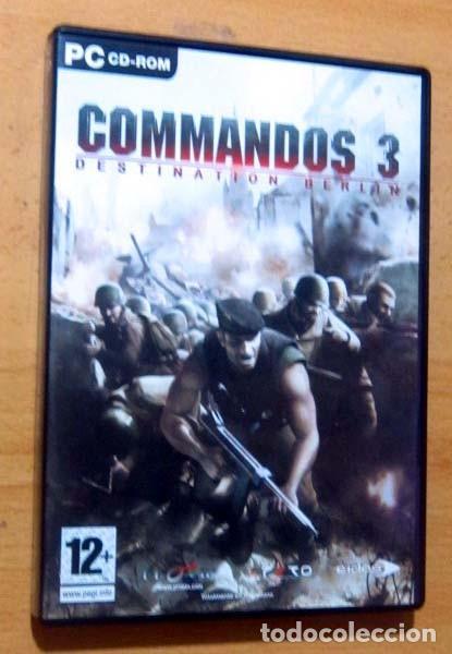 Videojuegos y Consolas: COMMANDOS SAGA TODO EN CASTELLANO CAJA CON 4 JUEGOS PARA PC - PYRO STUDIOS - Foto 7 - 160899018
