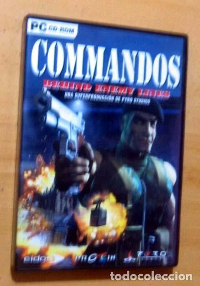 Videojuegos y Consolas: COMMANDOS SAGA TODO EN CASTELLANO CAJA CON 4 JUEGOS PARA PC - PYRO STUDIOS - Foto 8 - 160899018