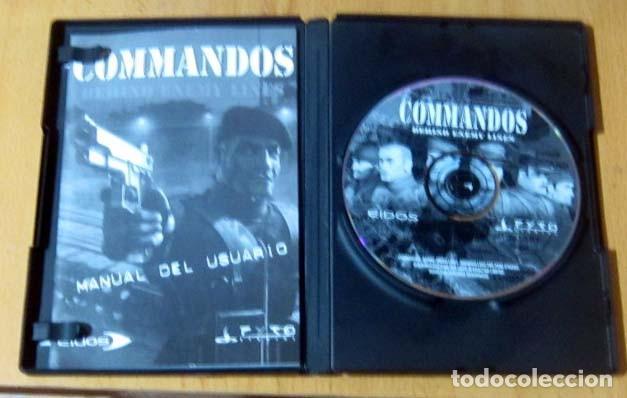 Videojuegos y Consolas: COMMANDOS SAGA TODO EN CASTELLANO CAJA CON 4 JUEGOS PARA PC - PYRO STUDIOS - Foto 9 - 160899018