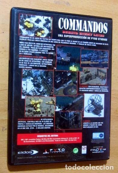 Videojuegos y Consolas: COMMANDOS SAGA TODO EN CASTELLANO CAJA CON 4 JUEGOS PARA PC - PYRO STUDIOS - Foto 11 - 160899018