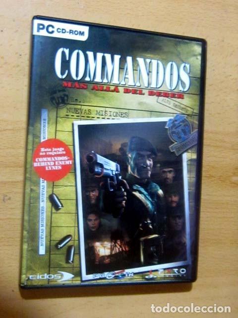 Videojuegos y Consolas: COMMANDOS SAGA TODO EN CASTELLANO CAJA CON 4 JUEGOS PARA PC - PYRO STUDIOS - Foto 12 - 160899018