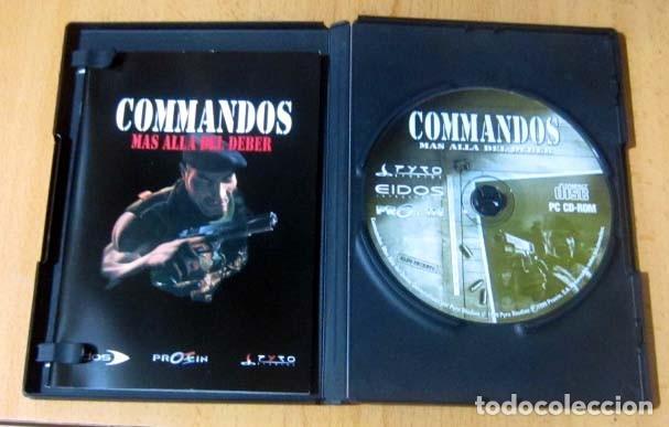 Videojuegos y Consolas: COMMANDOS SAGA TODO EN CASTELLANO CAJA CON 4 JUEGOS PARA PC - PYRO STUDIOS - Foto 13 - 160899018