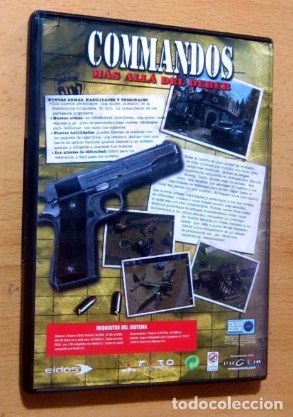 Videojuegos y Consolas: COMMANDOS SAGA TODO EN CASTELLANO CAJA CON 4 JUEGOS PARA PC - PYRO STUDIOS - Foto 15 - 160899018
