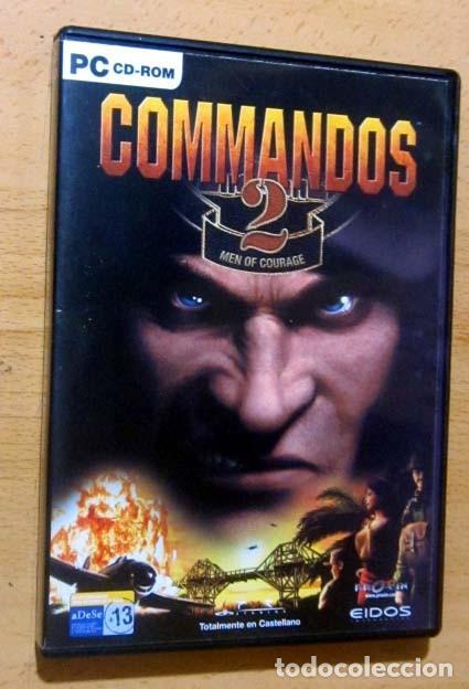 Videojuegos y Consolas: COMMANDOS SAGA TODO EN CASTELLANO CAJA CON 4 JUEGOS PARA PC - PYRO STUDIOS - Foto 16 - 160899018