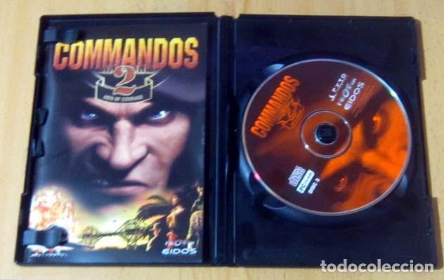 Videojuegos y Consolas: COMMANDOS SAGA TODO EN CASTELLANO CAJA CON 4 JUEGOS PARA PC - PYRO STUDIOS - Foto 17 - 160899018