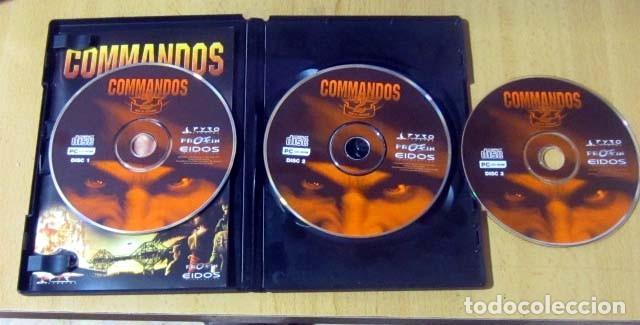Videojuegos y Consolas: COMMANDOS SAGA TODO EN CASTELLANO CAJA CON 4 JUEGOS PARA PC - PYRO STUDIOS - Foto 18 - 160899018