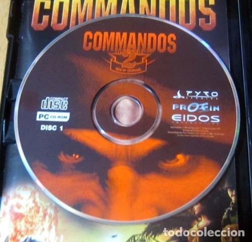 Videojuegos y Consolas: COMMANDOS SAGA TODO EN CASTELLANO CAJA CON 4 JUEGOS PARA PC - PYRO STUDIOS - Foto 19 - 160899018