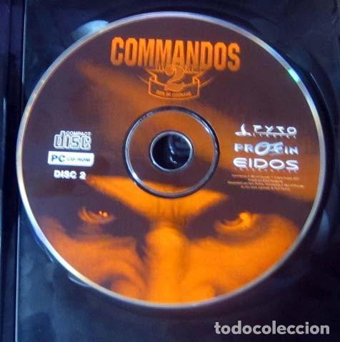 Videojuegos y Consolas: COMMANDOS SAGA TODO EN CASTELLANO CAJA CON 4 JUEGOS PARA PC - PYRO STUDIOS - Foto 20 - 160899018