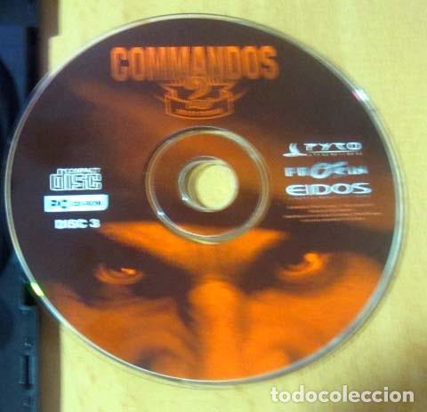 Videojuegos y Consolas: COMMANDOS SAGA TODO EN CASTELLANO CAJA CON 4 JUEGOS PARA PC - PYRO STUDIOS - Foto 21 - 160899018