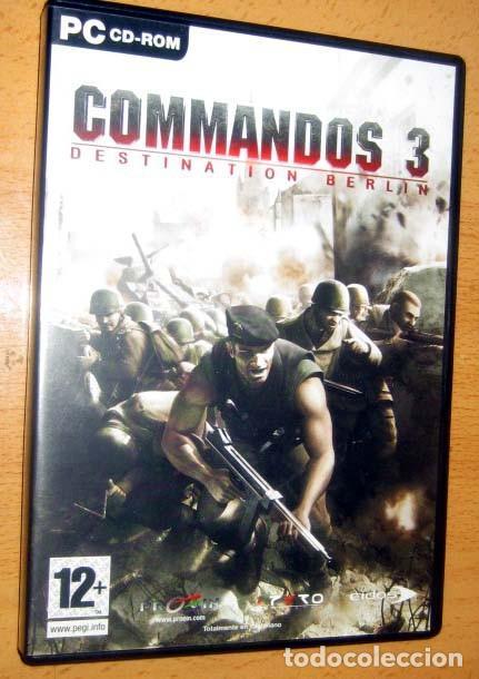 Videojuegos y Consolas: COMMANDOS SAGA TODO EN CASTELLANO CAJA CON 4 JUEGOS PARA PC - PYRO STUDIOS - Foto 22 - 160899018
