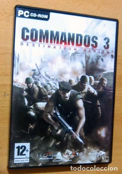 Videojuegos y Consolas: COMMANDOS SAGA TODO EN CASTELLANO CAJA CON 4 JUEGOS PARA PC - PYRO STUDIOS - Foto 23 - 160899018