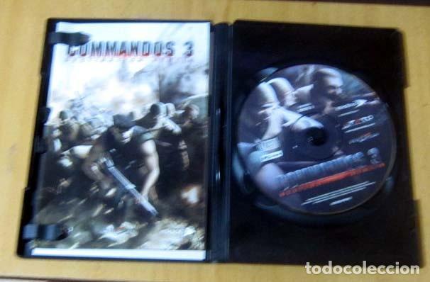 Videojuegos y Consolas: COMMANDOS SAGA TODO EN CASTELLANO CAJA CON 4 JUEGOS PARA PC - PYRO STUDIOS - Foto 24 - 160899018