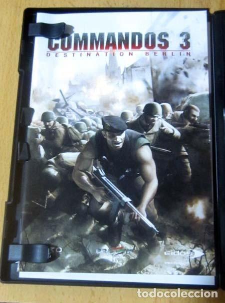 Videojuegos y Consolas: COMMANDOS SAGA TODO EN CASTELLANO CAJA CON 4 JUEGOS PARA PC - PYRO STUDIOS - Foto 25 - 160899018