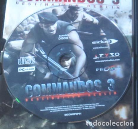 Videojuegos y Consolas: COMMANDOS SAGA TODO EN CASTELLANO CAJA CON 4 JUEGOS PARA PC - PYRO STUDIOS - Foto 26 - 160899018