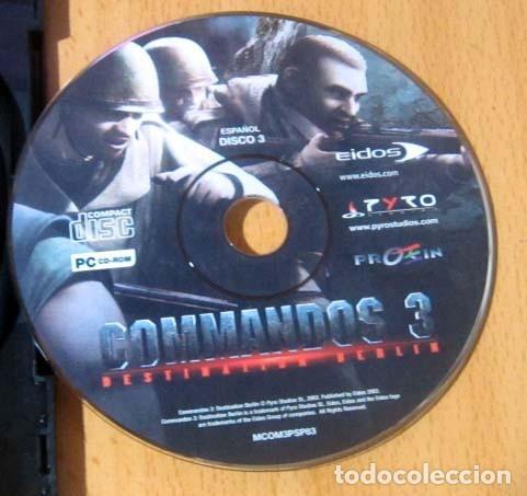 Videojuegos y Consolas: COMMANDOS SAGA TODO EN CASTELLANO CAJA CON 4 JUEGOS PARA PC - PYRO STUDIOS - Foto 28 - 160899018