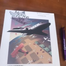 Videojogos e Consolas: MICROSOFT FLIGHT SIMULATOR - SIMULADOR DE VUELO- NEW VERSIÓN FOR IBM 3 1/2 DISK. Lote 161443024