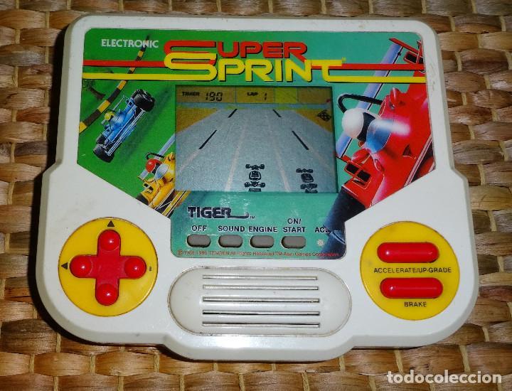 GAME & WATCH MAQUINA TIGER SUPER SPRINT - MAQUINITA (Juguetes - Videojuegos y Consolas - Otros descatalogados)