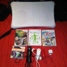 Videojuegos y Consolas - Lote wii 4 juegos+1 micro+2 nunchakus+1 wiimote+tabla wii - 161516317