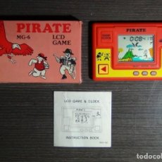 Videojuegos y Consolas: LCD GAME GAME CLOCK PIRATE MG-6 GAME WATCH. Lote 161621698