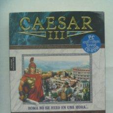 Videojuegos y Consolas: JUEGO CAESAR III , DE SIERRA . PC , CD ROM , EN ESPAÑOL. Lote 162366014