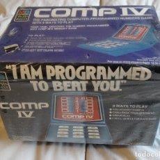 Videojuegos y Consolas: MAQUINITA COMP IV DE MB AÑOS 70S 80S ELECTRONIC HANDHELD NUEVO NUEVO GAME WATCH G&W. Lote 115987279