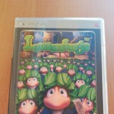 Videojuegos y Consolas: JUEGO PSP LEMMINGS PLATINUM. Lote 162469044