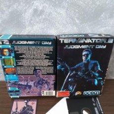 Videojuegos y Consolas: VIDEOJUEGO TERMINATOR 2 LJN OCEAN C64/128 DISK COMMODORE. Lote 163246522