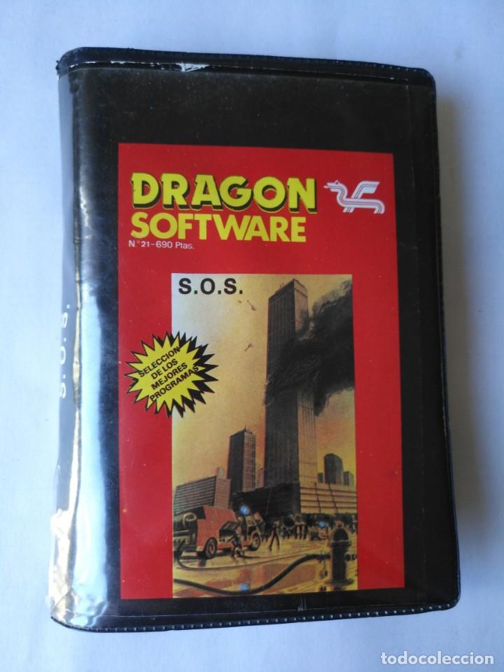 DRAGON SOFTWARE S.O.S N°21 ORDENADOR AMSTRAD MSX SPECTRUM COMMODORE (Juguetes - Videojuegos y Consolas - Otros descatalogados)