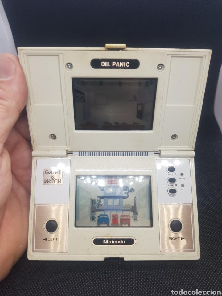 Videojuegos y Consolas: Maquinita nintendo game and watch oil Panic funcionando - Foto 2 - 165167636