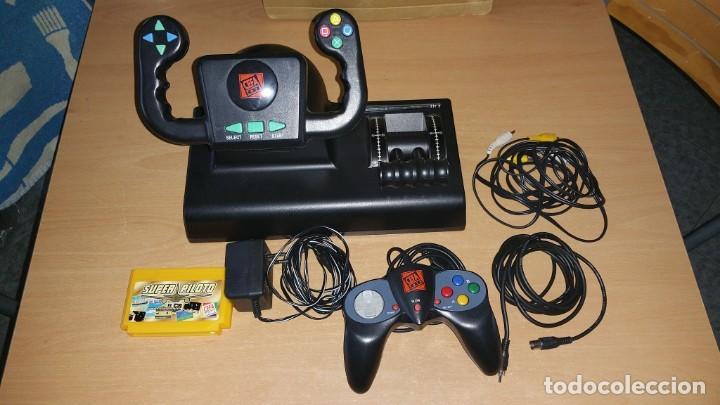 Videojuegos y Consolas: Consola Super piloto de Cefa 23 juegos - Foto 3 - 165178650