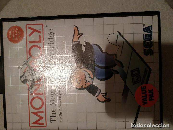 JUEGO MONOPOLI SEGA 1988 (Juguetes - Videojuegos y Consolas - Otros descatalogados)