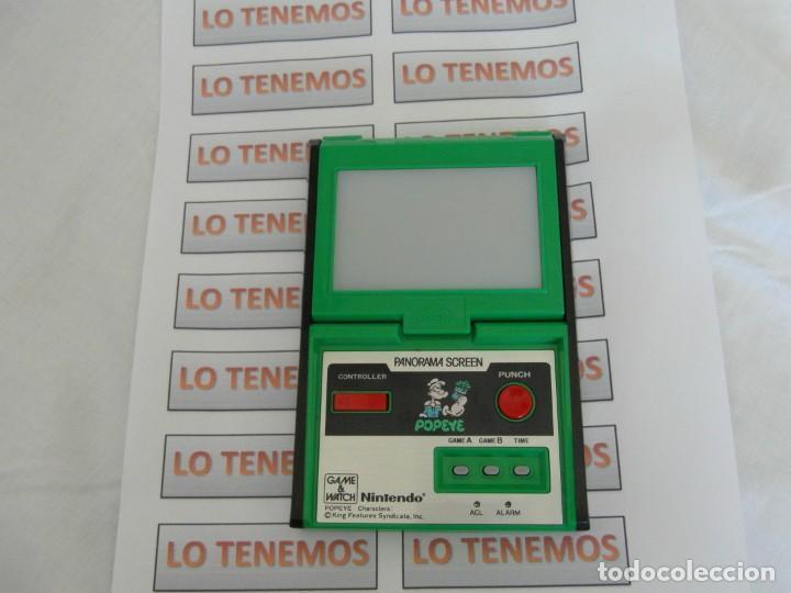 Videojuegos y Consolas: Nintendo Game&Watch panorama screen POPEYE - Foto 2 - 165434038