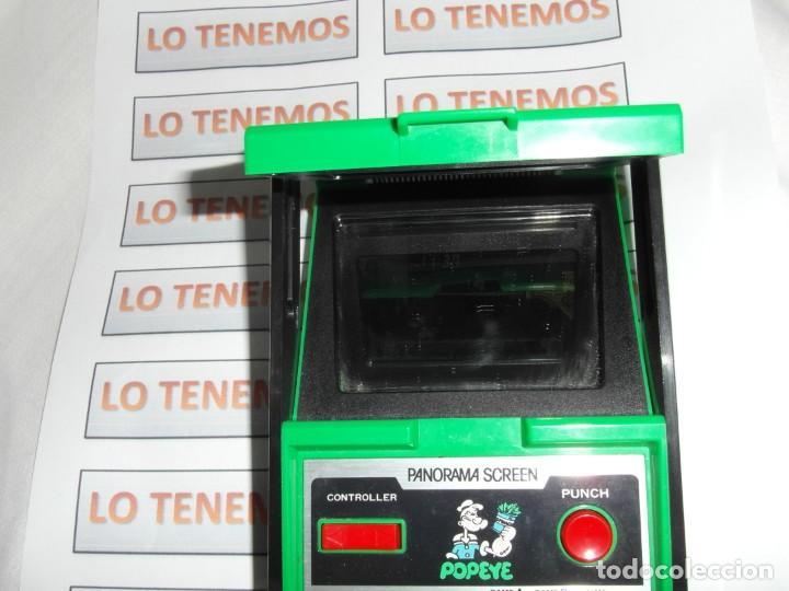 Videojuegos y Consolas: Nintendo Game&Watch panorama screen POPEYE - Foto 9 - 165434038
