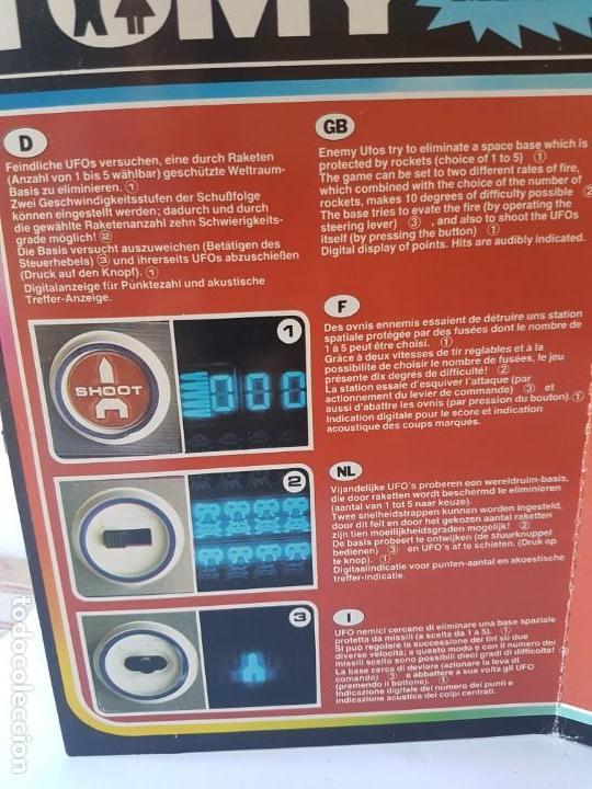 Videojuegos y Consolas: CONSOLA UFO ATTACK / TOMY ECLECTRONICS / CON CAJA Y FUNCIONANDO. - Foto 2 - 166626150